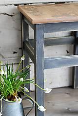 Nábytok - Vidiecky stolček no.3 - 9383624_