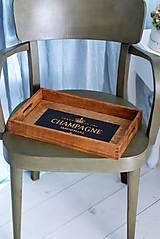 Nádoby - Podnos Champagne - 9383982_