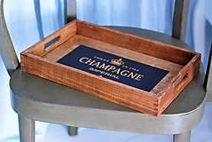 Nádoby - Podnos Champagne - 9383983_
