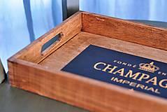 Nádoby - Podnos Champagne - 9383984_