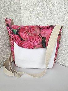Kabelky - Letná kabelka- ručne domaľovaná- zľava z 23 eur. - 9385119_