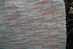 Úžitkový textil - Tkaný koberec béžovo-vanilkovo-marhuľový - 9384807_