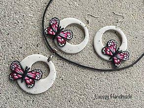 Sady šperkov - Motýlia súprava - 9382978_