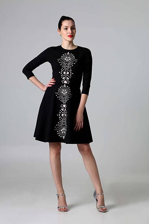 Šaty - Čierne lovely - 9388223_