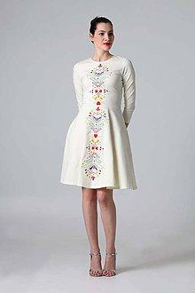 Šaty - Čierne lovely (Pestrofarebná) - 9388235_