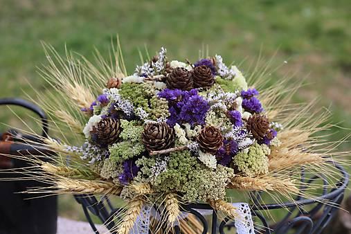 Kytica zo sušených kvetín