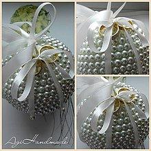 Prstene - perličková gulička na prstene - 9387606_