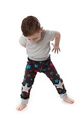 Detské oblečenie - Star nohavice hviezda - 9388875_