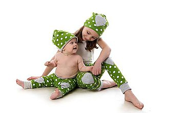 Detské oblečenie - Mimosa nohavice dots - 9387163_