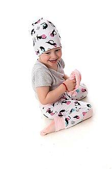 Detské oblečenie - Maia nohavice cats - 9387631_