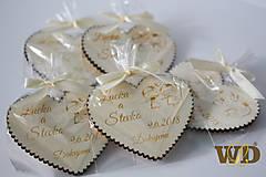 Darčeky pre svadobčanov - Svadobné darčeky s balením - 9389153_