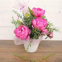 Dekorácie - Dekorácia v ružovom - 9389504_