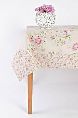 Úžitkový textil - Malá/veľká ružička - stolovanie - 9385614_