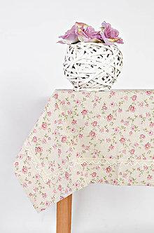 Úžitkový textil - Malá ružička s krajkou - 9385631_