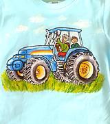 Detské oblečenie - traktor pre chlapčeka  :-) - 9385908_