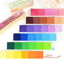 Farby-laky - Podušky pod pečiatky v odtieňoch - 9388806_