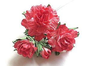 Kurzy - Kurz Papierové ružičky I. - 9387282_