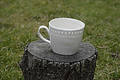 Nádoby - Veľká madeirová porcelánová šálka (Jemnosť) - 9388314_