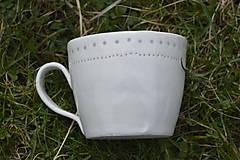 Nádoby - Veľká madeirová porcelánová šálka (Jemnosť) - 9388334_