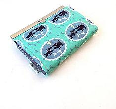 Peňaženky - Peňaženka s priehradkami Veľké psi - 9385985_