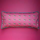 Úžitkový textil - Vankúš - malý vtáčik červienka - 9387875_