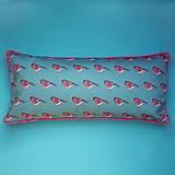 Úžitkový textil - Vankúš - malý vtáčik hýľ - 9388088_