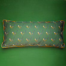 Úžitkový textil - Vankúš - malý vtáčik sýkorka - 9388137_