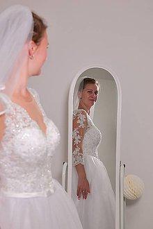 Šaty - Svadobné šaty - 9385681_