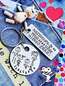 Kľúčenky - celá RODINKA spolu ... a samozrejme aj psík :) - 9394595_