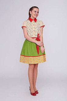 Šaty - Lentilkové šaty, najveselšie na svete :) - 9394772_