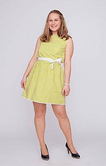 Šaty - Šaty hráškové s bodkami - 9394773_