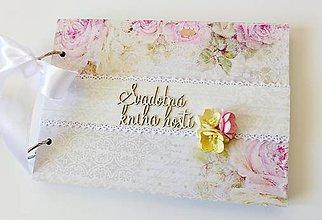 Papiernictvo - svadobná kniha hostí - 9391860_
