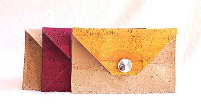 Peňaženky - Korková peňaženka XS - 9393563_