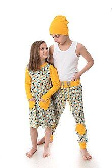 Detské oblečenie - Mimosa šaty jarné, letné - 9392498_