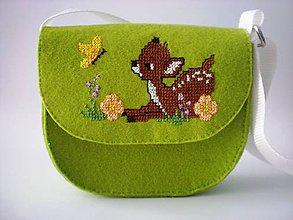 Detské tašky - Moja prvá kabelka (Srnka) - 9391848_
