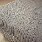 Úžitkový textil - sivo ružový prehoz - 9390487_