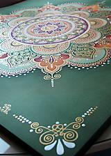 Obrazy - Mandala...Tam kde býva láska II. - 9391223_