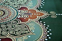Obrazy - Mandala...Tam kde býva láska II. - 9391229_