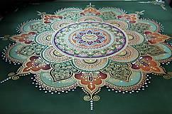 Obrazy - Mandala...Tam kde býva láska II. - 9391233_