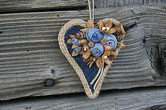 Dekorácie - šiško-srdce10 - 9390466_