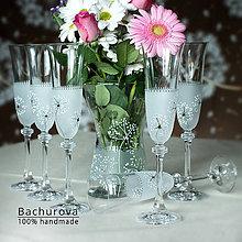 Darčeky pre svadobčanov - Svadobné poháre_cena je za 1 kus - 9391184_