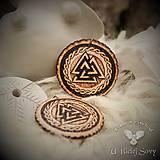 Náhrdelníky - Valknut, severský amulet - 9391182_