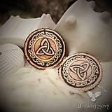 Náhrdelníky - TRIQUETRA, keltský amulet - 9391191_