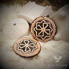 Náhrdelníky - Slnečný symbol, slovanský amulet - 9391167_