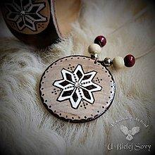 Náhrdelníky - Hviezda Boha Roda, slovanský amulet - 9391237_