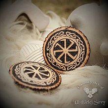 Náhrdelníky - Kolovrat, amulet - 9392698_
