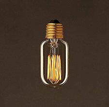 Komponenty - EDISON žiarovka – TUNNEL – E27, 30W, 60lm - 9393902_