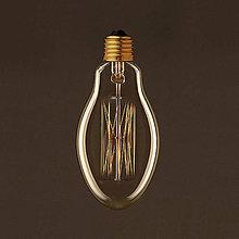 Komponenty - EDISON žiarovka – EGG – E27, 30W, 60lm - 9393992_