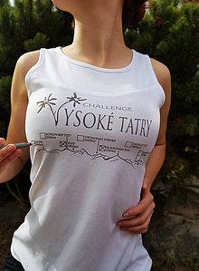 Tričká - Tričko Tatranská turistická výzva na odškrtávanie vrcholov - 9392829_