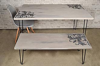 Nábytok - Jedálenský/kuchynský stôl Verona - výpredaj kolekcie - 9394061_